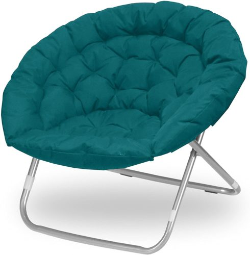 Green papasan chair