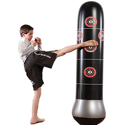 KKLU Multi-layer Free Standing Punching Bag
