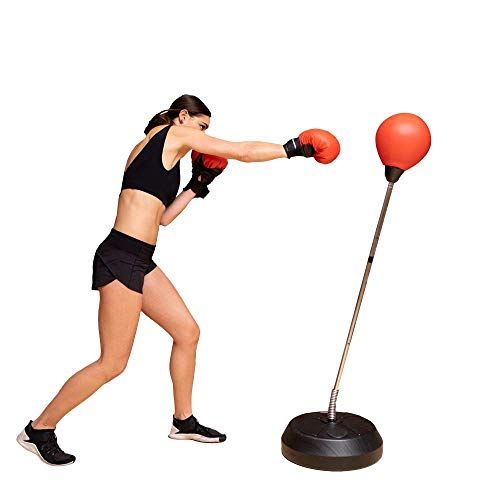 Protocol Free Standing Punching Bag with Wide Base