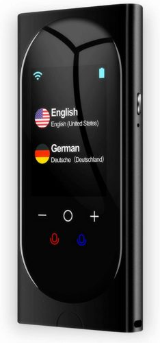 Language Translator Device Interpreter Device Two Way Voice Translator
