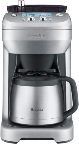 Breville-BDC650BSS-Control-Brushed-Stainless coffee machines with a grinder