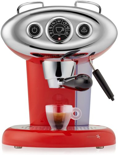Francis-X7-1-Iperespresso-Machine-Red Coffee Making Machine
