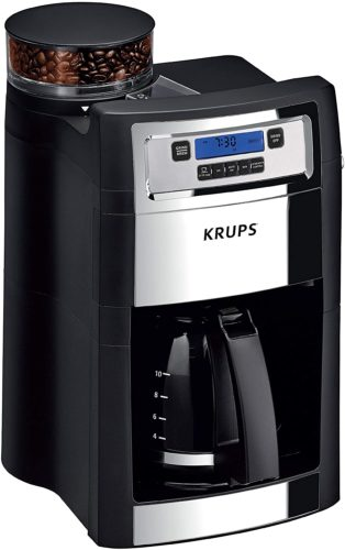 KRUPS-Auto-start-Coffee-Builtin-Grinder coffee machines with a grinder