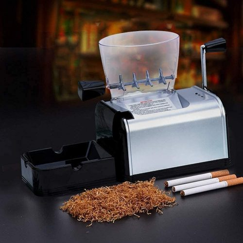 YANJ Electric Tobacco Rolling Machine, Automatic Cigarette-Filling Machine, Portable Smoking Tool, Men's Father's Best Gift